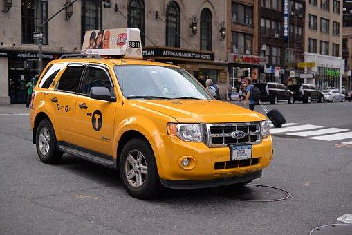 Newyork, Ny, New York, United States, Yellow Cap