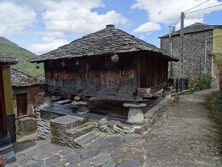 I Horreo, Construction, Asturias, Architecture, Old