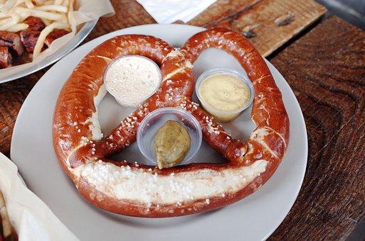 Pretzels, Pretzel, Bread