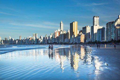 Santa Catarina, South, Litoral, Ride, Tourism, Mar