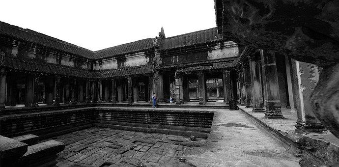 Siem Reap, Angkor Wat, Temple