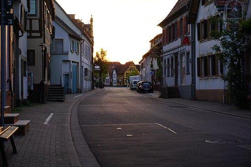 Village, Twilight, Cheap Home