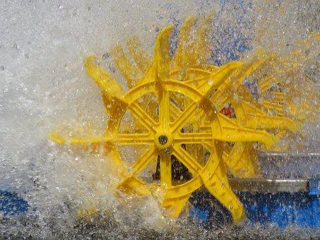 Wheel, Waterwheel, Water, Rotation, Turn, Energy