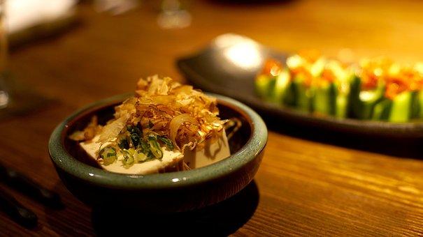 Japan Cuisine, Tofu, Food, Fried Tofu, And The Wind