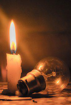 Candle, Bulb, Fire, Light, Electric, Energy, Bright