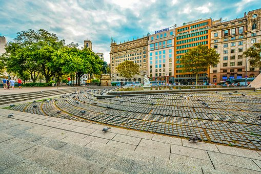 Barcelona, Spain, City, Travel, Catalonia, Building
