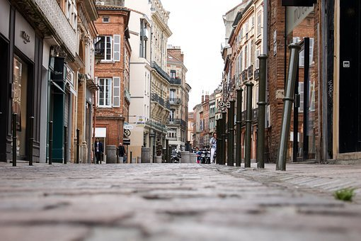 France, Toulouse, Architecture, Buildings, Street, Old
