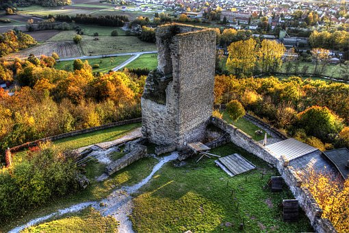 Ball Castle, Ruin, Northern Hesse, Castle, Middle Ages