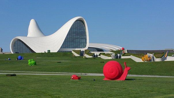 Baku, Azerbaijan, Haliyev Center, Caucasus