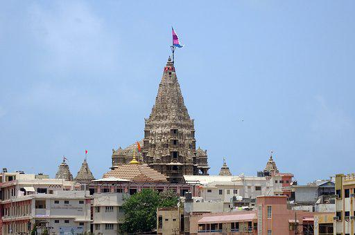 Temple, Dwarkadhish, Jagat Mandir, Dwarakadheesh