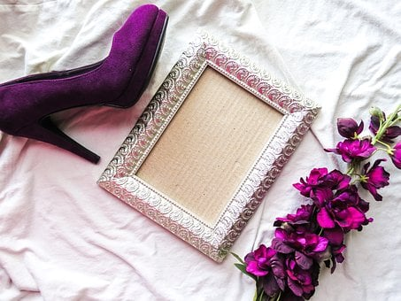 Purple, Heels, Shoes, Fashion, Elegance, Elegant, Woman