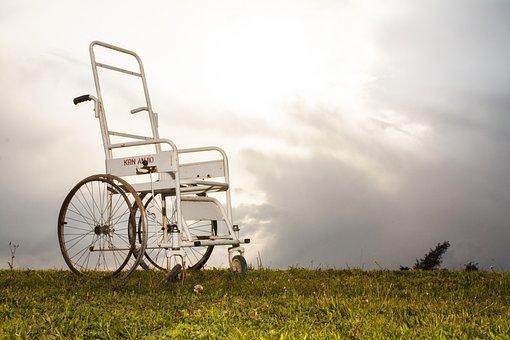 Disabled, Chair, Engel, Fiction, Grass, Opinions, Idea
