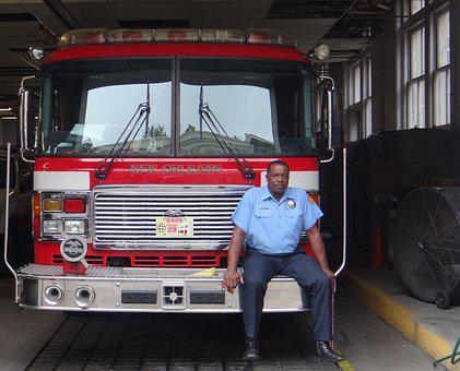 Fire, New Orleans, Firefighter, Fire Truck