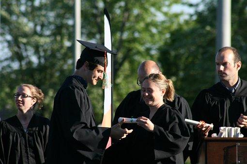 Graduation, Secondary V, Diploma, Toga