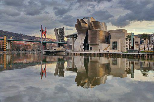 Museum, Guggenheim, Bilbao, Highlights, Architecture