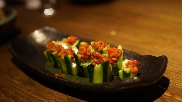 Japan Cuisine, Cucumber, Kaiseki