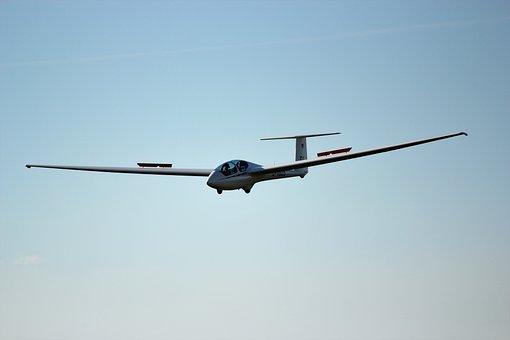 Landing, Glider, Glide, Thermals, Air Sports