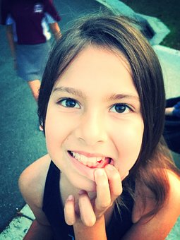 Lost Tooth, Tooth, Child, Girl, Gap, Dental, Mouth