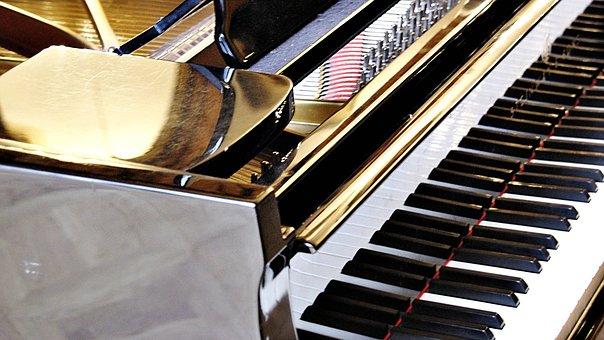 Piano, Keyboard, Music, Keys, Musical Instrument