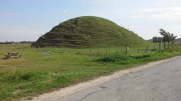Refuge Mound, Domburg, Nature, Zealand, Netherlands