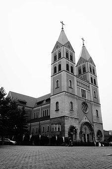 Qingdao, Qingdao Catholic Church, Gothic Architecture