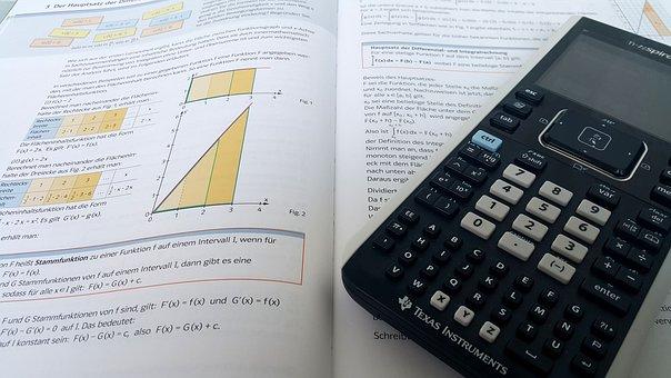 Mathematics, Count, Pay, School, Calculator