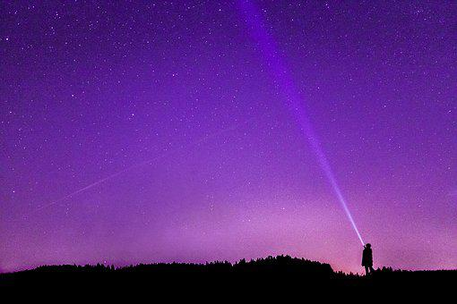 Night Photograph, Starry Sky, Night Sky, Star, Night