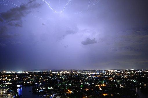 Lightning, Electricity, Storm, Flash, Thunderstorm
