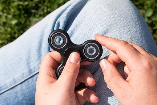 Fidget Spinner, Spinner, Toys