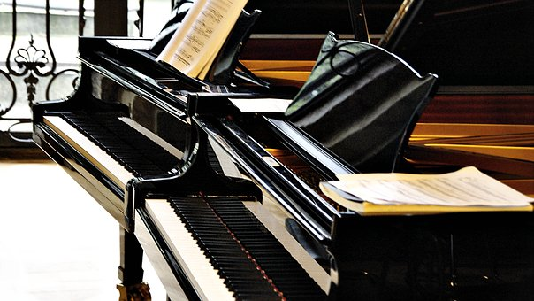 Piano, Wing, Music, Instrument, Keyboard Instrument
