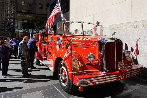 Antique Fire Truck, American Fire Truck