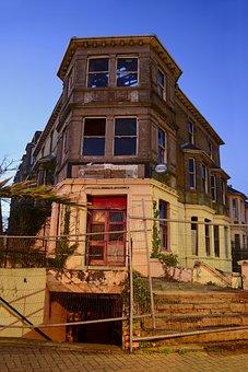Old, Building, Demolition, Architecture, House, Urban