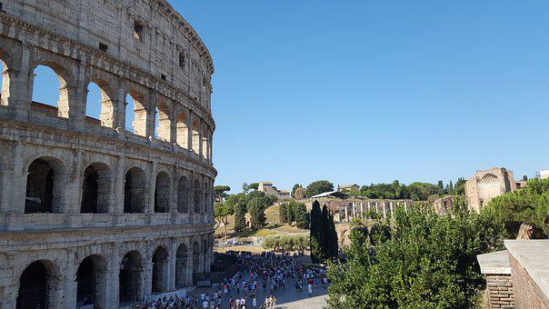 Colosseum, Rome, Italy, Landmark, Architecture, Ancient