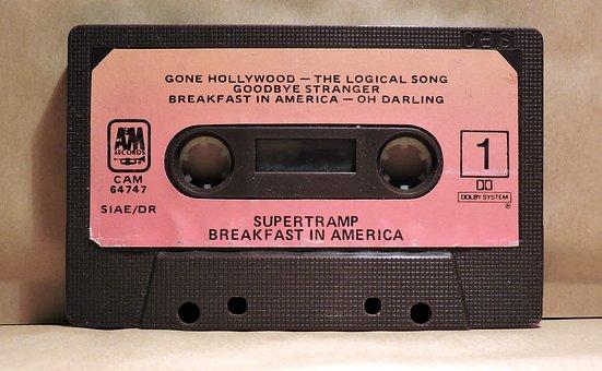 Musicassette, Audio Cassette, Vintage, Tape