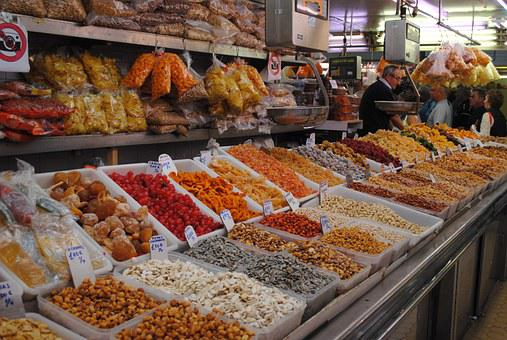 Spices, Market, Colour, Food, Cuisine, Bazaar, Pepper