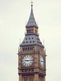 Big Ben, London, England, Parliament, Clock, Tower