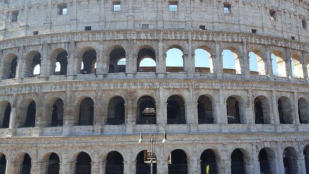 Colosseum, Rome, Italy, Landmark, Architecture, Ancient