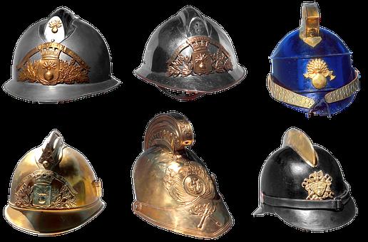 Helmet, Firefighter, Shape, Firefighter Helmet, Team