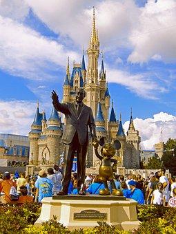 Disney, Magic, Kingdom, Florida, Orlando, Landmark