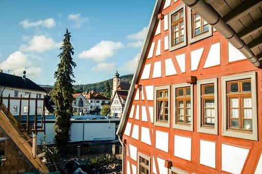 Germany, Heidelberg, German House, Christmas