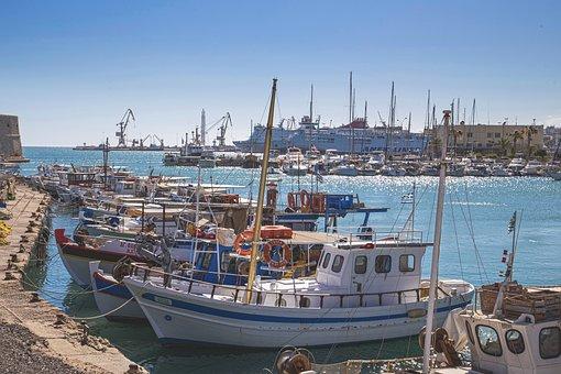 Harbour, Dock, Port, Ship, Boat, Fishing, Fishermen