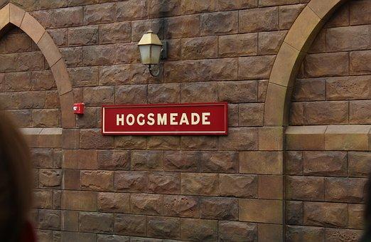 Hogsmeade, Train Station, Universal Studios, Orlando