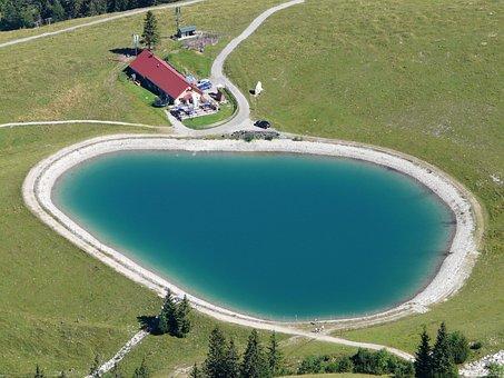 Wiedhagalpe, Reservoir, Oberjoch, Iseler, Water Storage