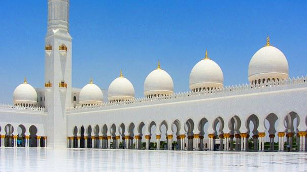 Sheikh Zayed Mosque, Mosque, Large Mosque, Abu Dhabi