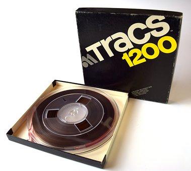 Magnetic Tape, Reel-to-reel, Vintage, Tape, Old