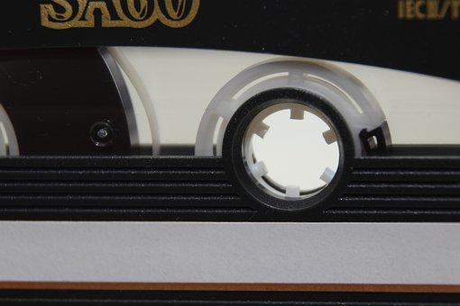 Music Cassette, Cassette, Music, Magnetband, Detail