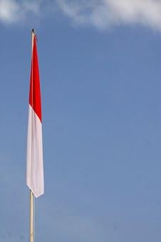 Indonesia, Flag, Indonesian, Nation, Country, National