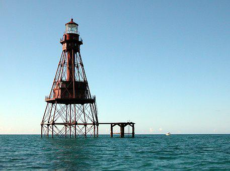 Light Station, Water, Safety, Nautical, Warning, Beacon