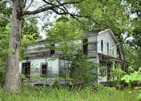 Old House, Abandoned, Neglected, Vacant, Architecture