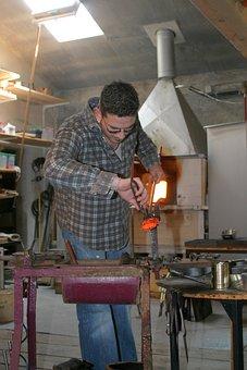 Glass Blower, Tradition, Craft, Niederbayern
